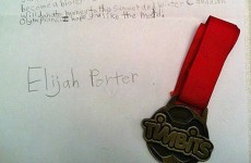 A 10-year-old boy sent his medal to the Canadian Olympians who lost theirs through disqualification