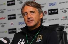 Mancini: City will thrive despite Van Persie snub
