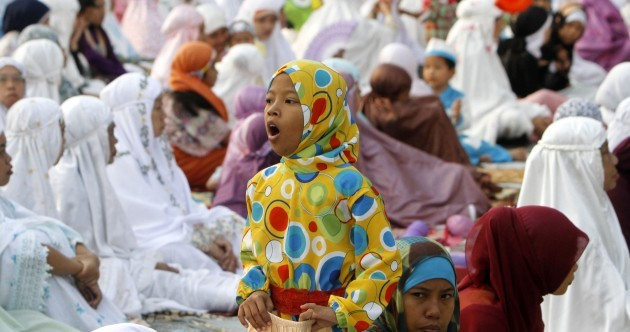 In photos: celebrating the end of Ramadan around the world