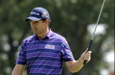 Hot streak: Harrington birdies four straight to lead The Barclays
