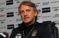 Mancini: Aguero will not play for Argentina despite call up
