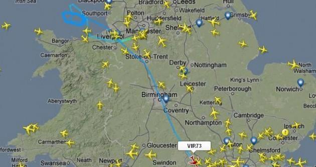 Virgin Atlantic flight diverts to Gatwick after declaring on-board problem
