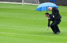 VIDEO: Sunderland v Reading is called off due to waterlogged pitch