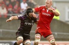 Paul O'Connell may miss Six Nations games after Ospreys red card