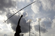 Javelin spears official's throat at German meet