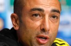 Di Matteo rues early goals following Atletico humbling