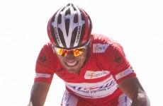 Vuelta á Espana: Cataldo takes punishing stage as Roche slips back