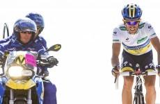 Vuelta á Espana: Contador storms into overall lead
