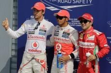 Britain's Lewis Hamilton bounces back with pole position