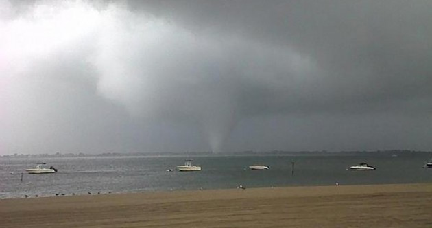 Video, pics: Tornado strikes beach front in New York