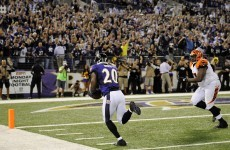 Flacco shines in Ravens win over Bengals
