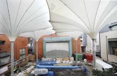 Temple Bar's giant 'umbrellas' wins award