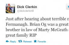 Twitter pays tribute to Fermanagh's Brian Óg Maguire