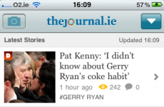 Shameless plug alert! Presenting TheJournal.ie's iPhone and iPad apps