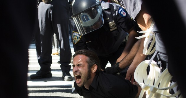 Dozens arrested as Occupy Wall Street protests fall flat