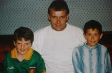 Snapshot: Talisman Michael Murphy with the last Donegal skipper to lift Sam… in 1992