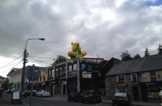 Snapshot: Winnie the Pooh backing Donegal ahead of All-Ireland showdown