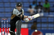 McCullum makes history on the double against Bangladesh
