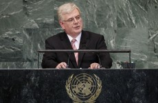 "Eamon Gilmore tells UN: Palestinian state is ""long overdue"""