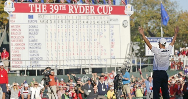 'This one is for Seve' - Ryder Cup comeback glory for Europe