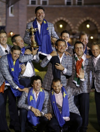 We Believe: Europe revelling after miracle at Medinah