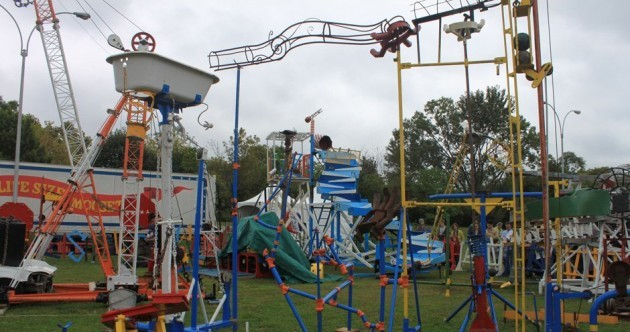 Check out this life-size Mousetrap game