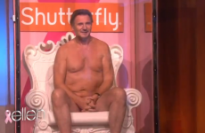 WATCH: Liam Neeson takes his clothes off and gets all wet