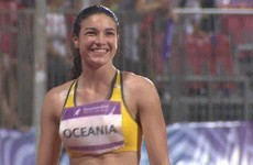 GIF of Michelle Jenneke doing her warm-up dance in the rain might break the internet (again)