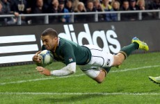 Rugby Championship: Springboks name unchanged line-up in quest to deny McCaw's 100th win