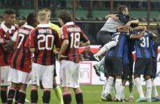 Ten-man Inter claim Milan derby victory