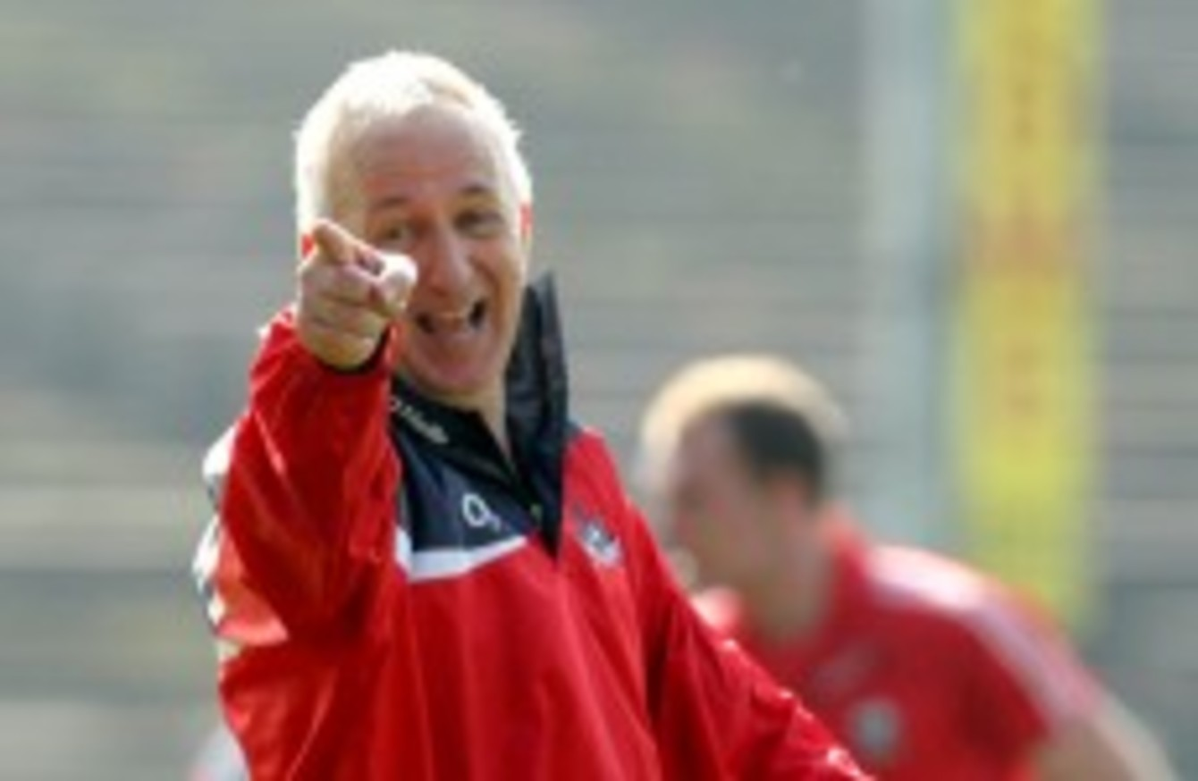 conor counihan you always challenge yourself to see can you can you bring the team forward the cork manager spoke to thescore ie about his decision to commit for a further two years