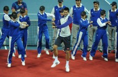 Novak Djokovic doing the Gangnam Style dance is the most awkward thing you'll see today