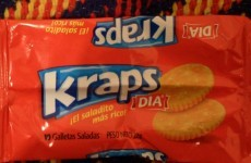 Excuse me, do you have any Kraps?