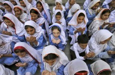 Shot Pakistani schoolgirl, 14, 'showing signs of improvement'