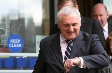 Bertie Ahern: I won't be running in the next election