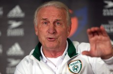 Trapattoni pleased with young players and confident Ireland are back on track