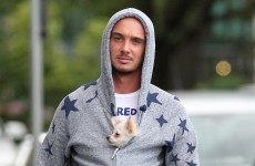 Woof! It's Saturday so here's some pictures of sports stars and dogs