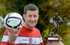 Sligo's McGuinness named player of the month