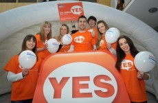 First major opinion poll shows 'Yes' leading the way in referendum