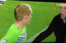 VIDEO: Leeds fan assaults Sheffield Wednesday goalkeeper Chris Kirkland