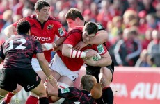 Heineken Cup: Munster player ratings v Edinburgh