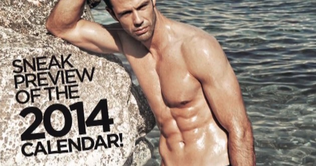Ryanair is bringing out a hunky man calendar in 2014...