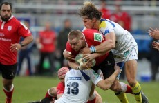 Tough break: Vosloo right back on Clermont injury list