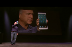 You can hold it in one hand: The iPad Mini