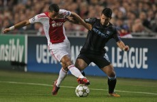 As it happened: Ajax v Manchester City, Champions League Wednesday