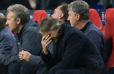 Roberto Mancini: Ajax defeat was my fault