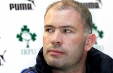 Promoted: McEntee takes up IRFU high performance role