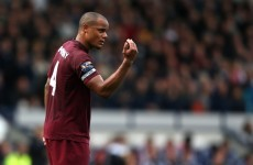 Kompany fends off City criticism