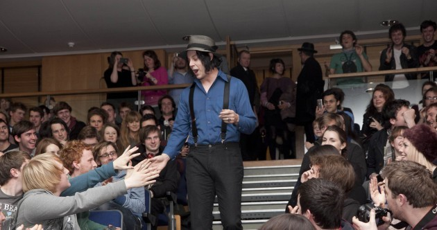 Jack White and James Joyce at UCD