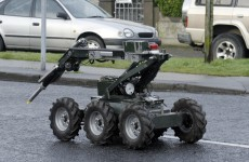 Explosive device made safe in Athy